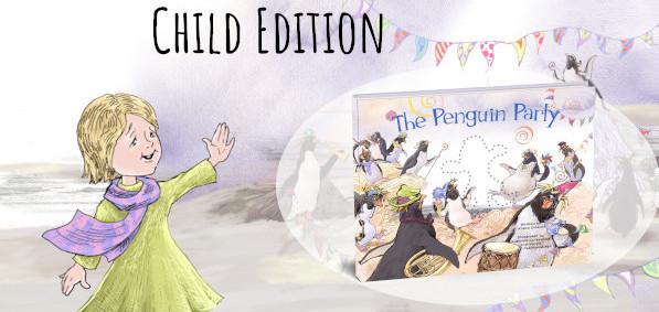 Penguin saying hi
