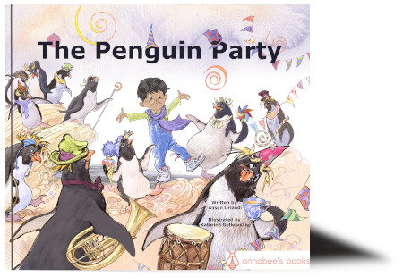 The penguin party cover